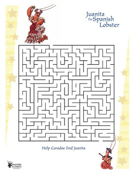 Juanita the Spanish Lobster Maze from Maestro Classics