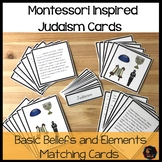 Judaism 5 Part cards