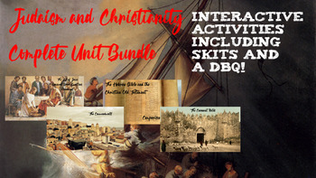 Judaism & Christianity Complete Unit Bundle