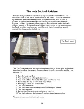 Judaism, Christianity and Islam: The Monotheistic Religions Study Packet