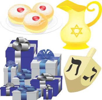 Judaism Hanukkah / Chanukah Clip Art