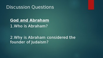 Judaism: Important Figures and Beliefs