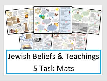 Judaism: Jewish Beliefs Task Mats