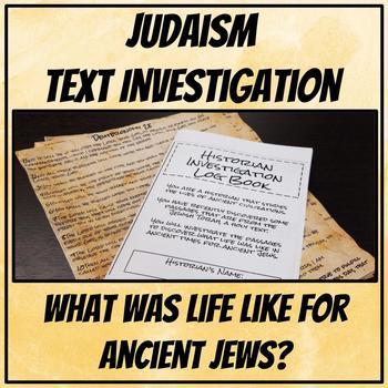 Judaism Text Investigation