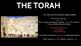 Judaism - The Torah Lesson