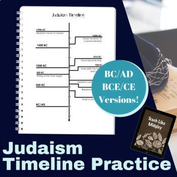 Judaism Timeline Practice