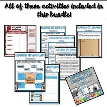 Judaism Unit Bundle {Digital}