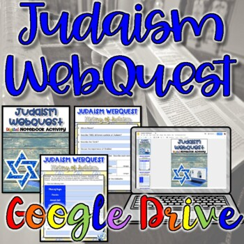 Judaism WebQuest {Digital}