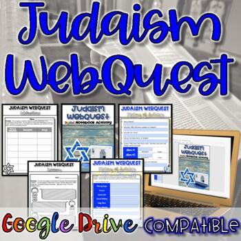 Judaism WebQuest {NO PREP}
