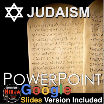 Judaism (World Religions) PowerPoint w/Video Clips + Presenter Notes