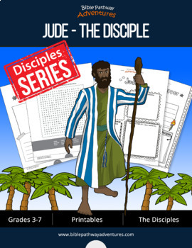 Jude: The Disciple Activity Book