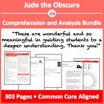 Jude the Obscure – Comprehension and Analysis Bundle