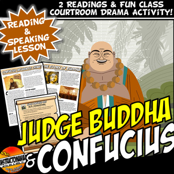 Medieval China Judge Buddha and Judge Confucius: A CCSS Aligned FUN Mock Trial