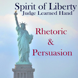 Judge Learned Hand Spirit of Liberty Rhetorical Analysis