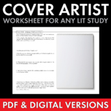Cover Artist, Fun writing activity to use with any Novel, Supplement Worksheet