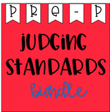 Judging Standards Bundle - Pre Primary