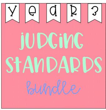 Judging Standards Bundle - Year 3