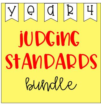 Judging Standards Bundle - Year 4