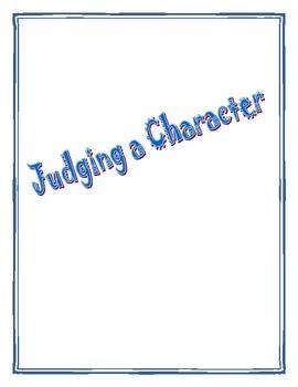 Judging a Character Using Post-Its
