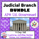 Judicial Branch BUNDLE: AP® U.S. Government (2019 Redesign Ready!)