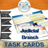 The Judicial Branch of Government | Differentiated Task Ca