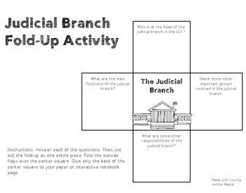 Judicial Branch: Lessons and Activities