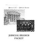 Judicial Branch Packet/Worksheets Bundle