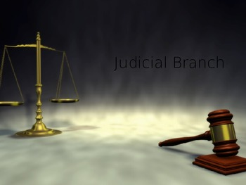 Judicial Branch Powerpoint