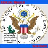 Judicial Branch (Supreme Court) Web Quest