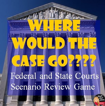 Judicial Branch – Where Would the Case Go? Scenario Review