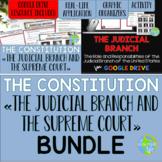 Judicial Branch and Supreme Court BUNDLE