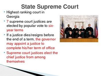 Judicial Branch of Georgia's Government