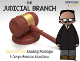 Judicial Branch of Government {Differentiated Reading Passages & Questions}