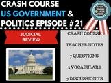 Judicial Review: Crash Course Government and Politics #21
