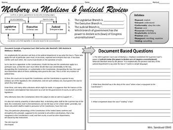 Judicial Review DBQ