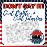Civil Rights and Civil Liberties Review Game AP Government