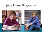 Judy Blume Biography PowerPoint