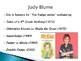 Judy Blume Biography PowerPoint
