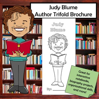 Judy Blume Biography Trifold Brochure