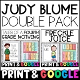 Judy Blume 2-Pack Bundle: Tales of a Fourth Grade Nothing & Freckle Juice!