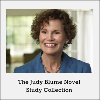 Judy Blume Novel Study Collection *