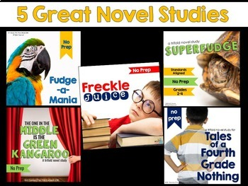 Judy Blume Novel Study Units
