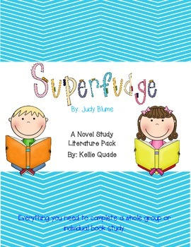 Superfudge Novel Study Literature Pack