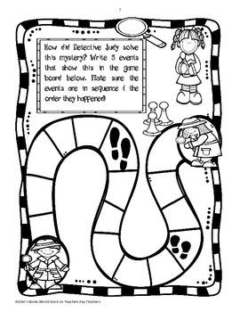 Judy Moody Girl Detective Novel Study Packet