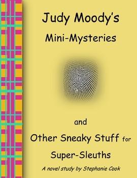 Judy Moody's Mini-Mysteries Novel Study