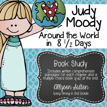 Judy Moody Around the World in 8 1/2 Days Book Study