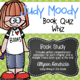 Judy Moody Book Quiz Whiz Book Study