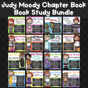 Judy Moody Book Study Bundle {All 13 Books in series}