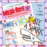 Judy Moody Bummer Summer Mega Rare Poster and Shark Tshirt Printables