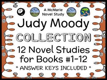 Judy Moody COLLECTION (Megan McDonald) ALL 12 Novel Studie
